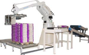 Robot bagging machine