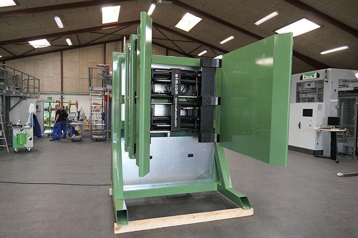 Pallet Load press front