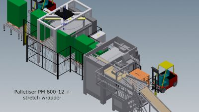 Turnkey packing line from ehcolo