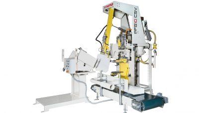 Ehcolo valve bag machine
